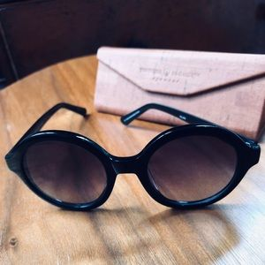 Tortoise & Blonde Palma Sunglasses in black